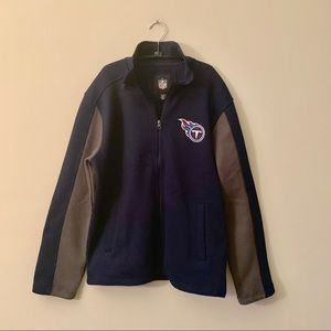 NFL Tennessee Titans knit sweater zip up jacket